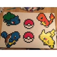 Starter Pokemon Painting by sydneyhicks111