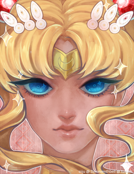 Sailor Moon by siiju
