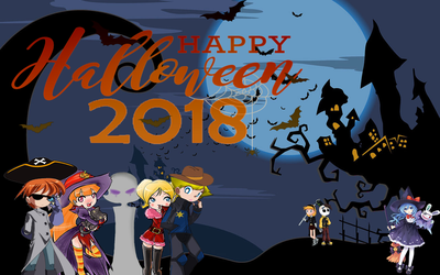 Halloween collab 2018 by snitchpogi12