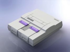 1:5 Scale Super Nintendo Entertainment System by DrOctoroc
