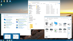 Windows 10 icons for Windows 7 - SS by Undre4m