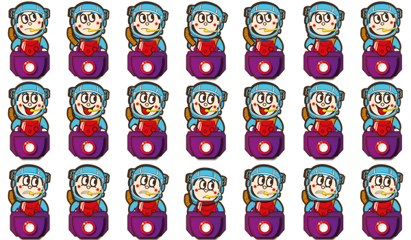 Space kid sprite sheet2 by AtrousArcturus
