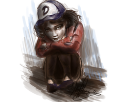 Clementine - The Walking Dead by Elizeon