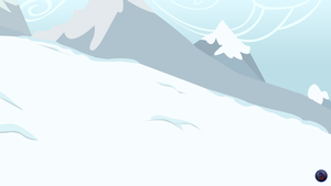 MLP Vector Background - Winter High Hill Free2Use by MLPBlueRay