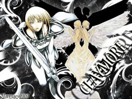 Wallpaper Claymore by Alarmaes