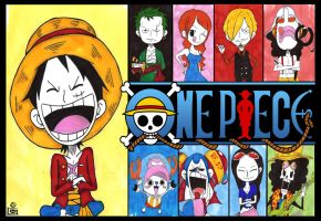 One piece ( we sail togather ) by Half-paint