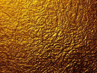 Gold Metal Wrinkled Paper by Enchantedgal-Stock