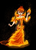 The Fire Queen by Starwarrior4ever