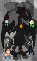 Lilith being new with her crew by K-daydream-112