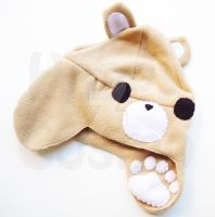 Bear Hat by CosmiCosmos