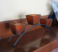 Candle Holder 3 by Artemis-Stock