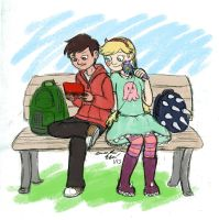 Waiting for the Bus by Suki-kitty