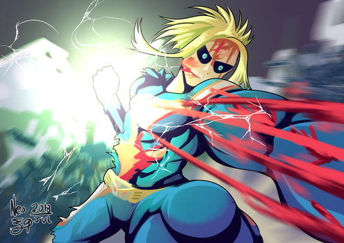 All Might by angelmoon19