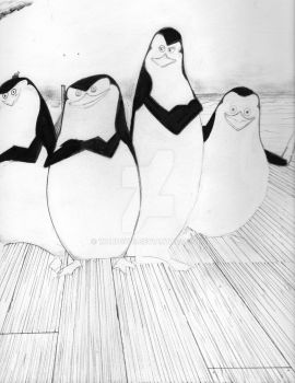 Penguins of Madagascar by ward1976