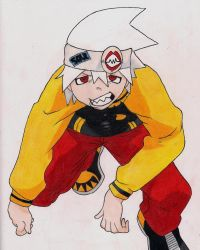 +Soul Eater Evans : Color by AutumnDreaming
