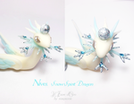Nives, Snow Spirit Dragon 3 by rosepeonie