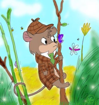 The little mouse detective by Miciotta