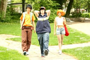 Pokemon: On our way by NorFrosch