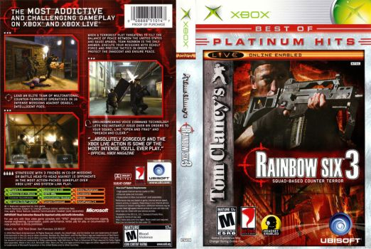 Rainbow Six 3  Boxart (Xbox Original) by dakotaatokad