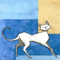White Cat 3 by rod-roesler