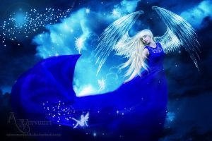 The Bleu Angel by annemaria48