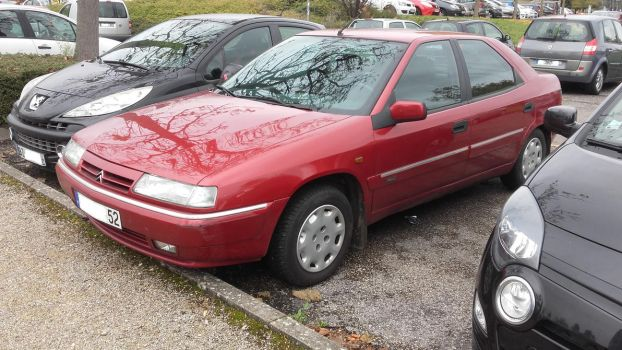 Red Citroen Xantia Phase 1 by Fast-Subaru71