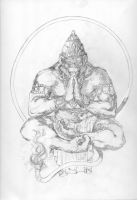 Hanuman Pencils by Blaw81