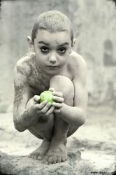 Mikain and the last fruit by Olegito
