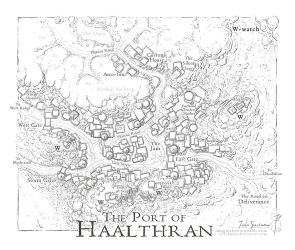 Port of Haalthran by SirInkman