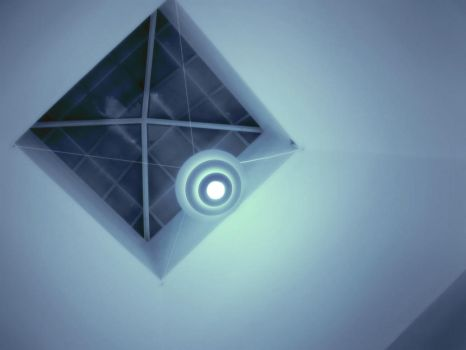 inside the pyramid -night- by ether