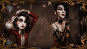 Steam Trading Card - Didi and her imaginary friend by Limitus