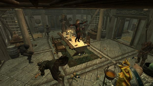 Party at the Dovahkiin. Part 10. Party Hard. by totalfreak2002