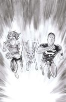 Superboy 5 cover process 2 by manapul