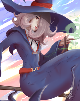 Little Witch Academia - Sucy by yyureta