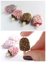 Ice Pop charms by thinkpastel