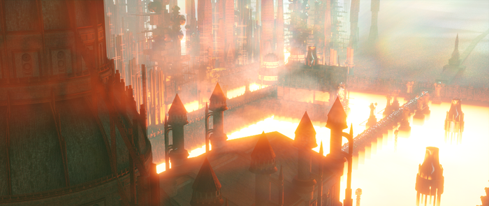 Warhammer 40k Forge Palace of Proximus by taumich