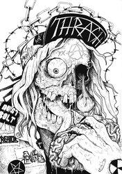 Thrash Metal by CinnamonDevil