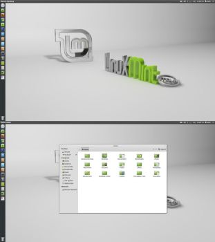 Orignal Mint Maya icons and theme for ubuntu12+ by MBOSSG
