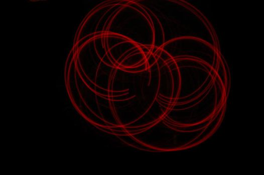 Red LED Poi by katmoore