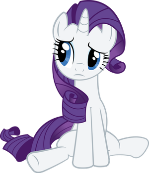 Rarity getting rejected by RedPandaPony