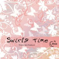 Swirls Time Brushes by Coby17