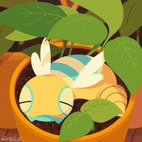 Planted Dunsparce