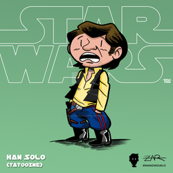 Starwars 002 Han ANewHope Tatooine by yellowpollo