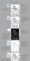 Colouring Tutorial Part 1 by billythebrain