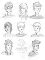 Characters of Divergent by choco-junk