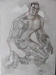 COLOSSUS ECCC 2014 by TerryDodson