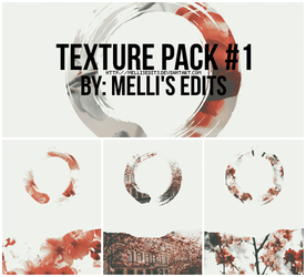 TEXTURE PACK #1 - MELLI'S EDITS by MellisEdits