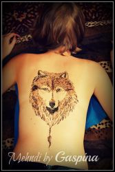 Wolf by Gaspina