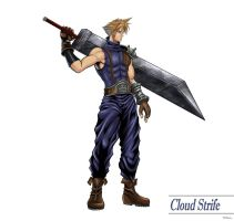 FF 7 - Cloud Strife (Full) by SoulStryder210