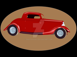 Red Coupe by photohooks